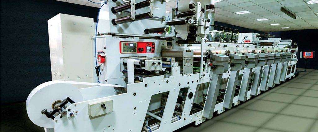 EDALE-G Range 8-Colour All UV Flexo Printing Machine