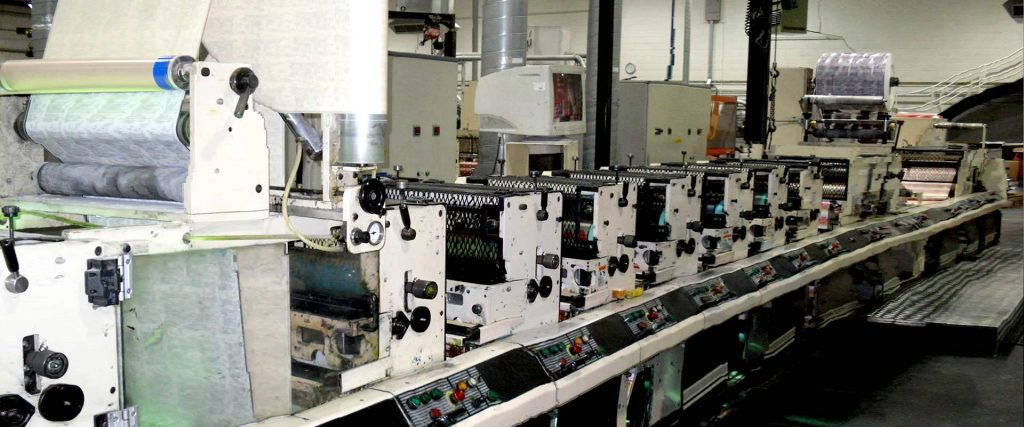 ETIRAMA 250 Flexo 7 – colour Printing machine